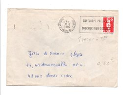 FLAMME ENVELOPPE PRECASEE 1992 - Postmark Collection (Covers)