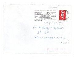 FLAMME FOIRE AUX HARICOTS ARPAJON ESSONNE 1994 - Postmark Collection (Covers)