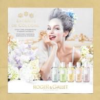 Carte Promo Perfume Card ROGER & GALLET * R/V * 14 X 14 Cm *** 1 EX - Perfume Cards