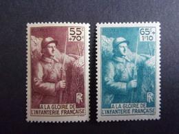 FRANCE YVERT 386/87 NEUF** 17 EURO - France