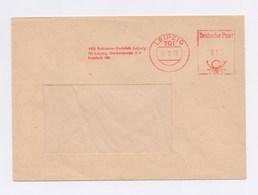 DDR Cover AFS - LEIPZIG, VEB Robotron-Vertrieb Leipzig 12.2.73 - Machine Stamps (ATM)