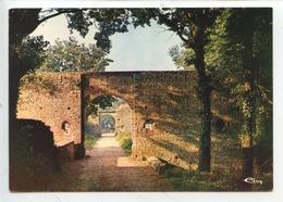 PIROU - Château Fort De Pirou, Les Deux Premières Portes Fortifiées (cp Vierge N°039) - France