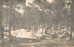 SION L'OCEAN ( Vendée ) - La Forêt Et Le Camping - Citroën Traction Et Simca Aronde - 1956 - Other Municipalities