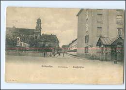 Y10907/ Elsaß Gebweiler Karlstraße 1906 AK - Elsass