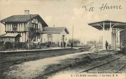 LA HUME - La Gare. - Gares - Sans Trains
