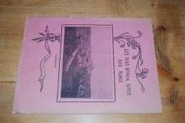 """Cahier 32 Pages Avec Couverture Illustrée Basses Alpes Valensole """"Les Plus Beaux Sites Des Alpes"""" Texte De C. Cauvin TBE - Carte Assorbenti"""