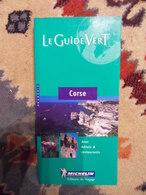 GUIDE VERT MICHELIN 2000 CORSE - Corse