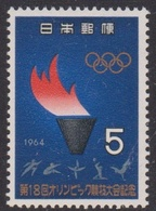 Japan SG981 1964 Olympic Game Tokyo, Torch, Mint Never Hinged - 1926-89 Emperor Hirohito (Showa Era)