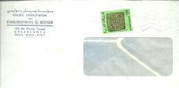 LETTER  CASABLANCA - Marruecos (1956-...)