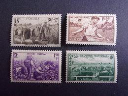 FRANCE YVERT 466/69 NEUF** 20 EURO - France