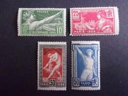 FRANCE YVERT 183/86 JEUX OLYMPIQUES NEUF** 160 EURO - France