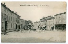CPA 51 SERMAIZE LES BAINS (marne) - La Rue De Vitry Edit Mikaelis - Sermaize-les-Bains