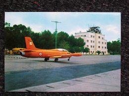 AEROPORTO F.CESARI LECCE Scuola Di Volo Basico Iniziale Con Aereo MB 326 - Aérodromes