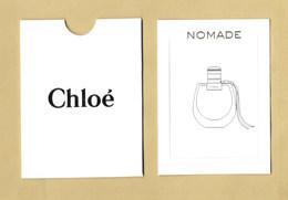 Carte Parfumée Perfume Card NOMADE * CHLOE + étui - Perfume Cards