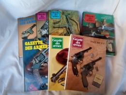 """LOT DE 7 LIVRES ANCIENS """"GAZETTE DES ARMES"""" - Livres, Revues & Catalogues"""