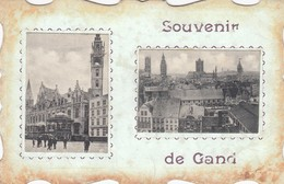 GENT / SOUVENIR /  FANTASIEKAART 1909 - Gent