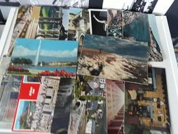 CPM - Lot De 17 CPM Francaise, Espagnol, Italienne Et Anglaise Destinatrice De France - Cartes Postales