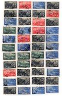 Italia  - Repubblica - 1948 - Lotto 44 Francobolli Centenario Del Risorgimento- Usati Alcuni Linguellati - (FDC13337) - Italia