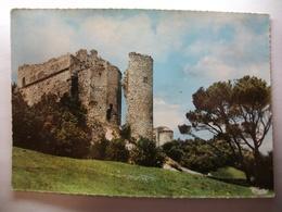 Carte Postale Le Thor (84) Le Chateau De Thouzon ( Format 10.5 X 15 Couleur Oblitérée  1967 Timbre 15 Centimes ) - France