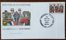 Nouvelle Calédonie - FDC 1995 - YT N°686 - Armistice De La 2ème Guerre Mondiale - FDC