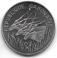 *gabon 100 Francs 1971  Km 12  Bu !!! - Gabón