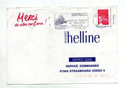Lettre Flamme Fameck Chapelle - Postmark Collection (Covers)