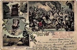 Szigetvár 1902. Circulated - Baranya - Hungary - Nikola Šubić Zrinski - Battle - Hungary