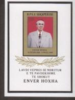 Albanien Block 084 - 086 Hoxha / Gemälde / Festival  MNH ** Postfrisch - Albania