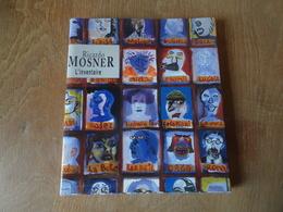 """Dessin Au Feutre Bleu De Ricardo Mosner En Page De Garde De Son Ouvrage """"L'Inventaire"""" Aux Editions Tiempo 1999 - Autographes"""