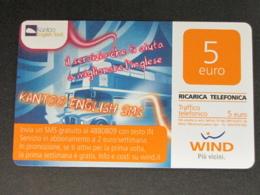 ITALIA WIND - KANTOO ENGLISH SMS - 30/06/2015 USATA - Schede GSM, Prepagate & Ricariche