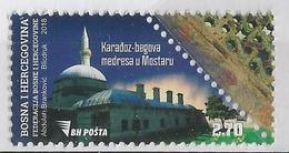 BH 2018-06 MEDRESA MOSTAR, BOSNA AND HERCEGOVINA, 1 X 1v, MNH - Islam