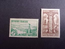FRANCE YVERT 301/02 NEUF** 175 EURO - France