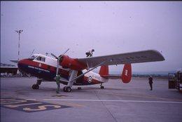 SLIDE / AVION / AIRCRAFT   ORIGINAL      TWIN PIONEER  G-APRS - Diapositives