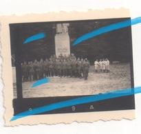 WW2 Allemands Wehrmacht à Clairiere De L'armistice Statue Marechal FOCH à COMPIEGNE Oise 1940 ! #2 - 1939-45