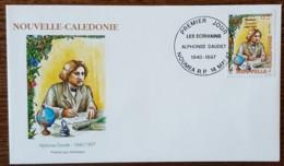 Nouvelle Calédonie - FDC 1997 - YT N°726 - Ecrivains / Alphonse Daudet - FDC