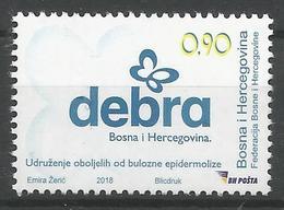 BH 2018-12 D E B R A, BOSNA AND HERCEGOVINA, 1 X 1v, MNH - Bosnien-Herzegowina