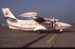 SLIDE / AVION / AIRCRAFT   ORIGINAL      LR AIRLINES  LET 410  OK-LRA - Diapositives