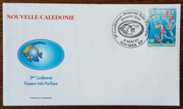 Nouvelle Calédonie - FDC 1997 - YT N°740 - Conférence Sur Les Poissons Indo Pacifique - FDC