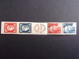 FRANCE YVERT 830/33 NEUF** 20 EURO - France