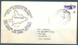 ROSS - SCOTT BASE - DEC 1974 - HISTORIC HUTS RESTORATION PROJECT - Lot 18691 - Lettres & Documents