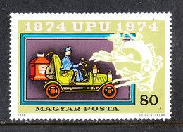 Ungheria  Hungary - 1974. Furgone Postale. Postal Van. MNH - Automobili