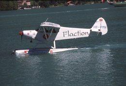 SLIDE / AVION / AIRCRAFT   ORIGINAL      PIPER PA 18 150 S CUP  HB-PMN - Diapositives