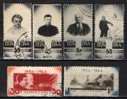 URSS - 1944 - IN ONORE DI LENIN - 20 ANNI DALLA MORTE - USATI - 1923-1991 URSS