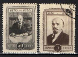 URSS - 1945 - LENIN - 75° ANNIVERSARIO DELLA NASCITA - USATI - 1923-1991 URSS