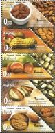 BH 2018-11 Nuts, BOSNA AND HERCEGOVINA, 1 X 5v, MNH - Ernährung