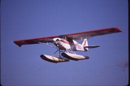 SLIDE / AVION / AIRCRAFT   ORIGINAL      PIPER  PA 18A S. CUP  N8786D - Diapositives
