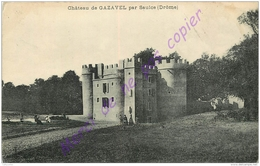 26. SAULCE . Chateau De GAZAVEL . - Francia