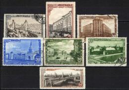 URSS - 1947 - VEDUTE DELLA CITTA' DI MOSCA - USATI - 1923-1991 URSS