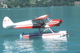 SLIDE / AVION / AIRCRAFT   ORIGINAL      PIPER  PA 18 150  S. CUP  HB-ORK - Diapositives
