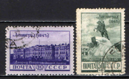 URSS - 1948 - PALAZZO D'INVERNO - MONUMENTO A PIETRO I - USATI - 1923-1991 URSS